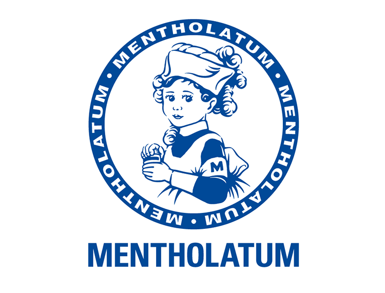 The Mentholatum's makeup logo is rich in humanistic feelings, which makes people feel that their products are as warm as the logo and customers are willing to buy its makeups.