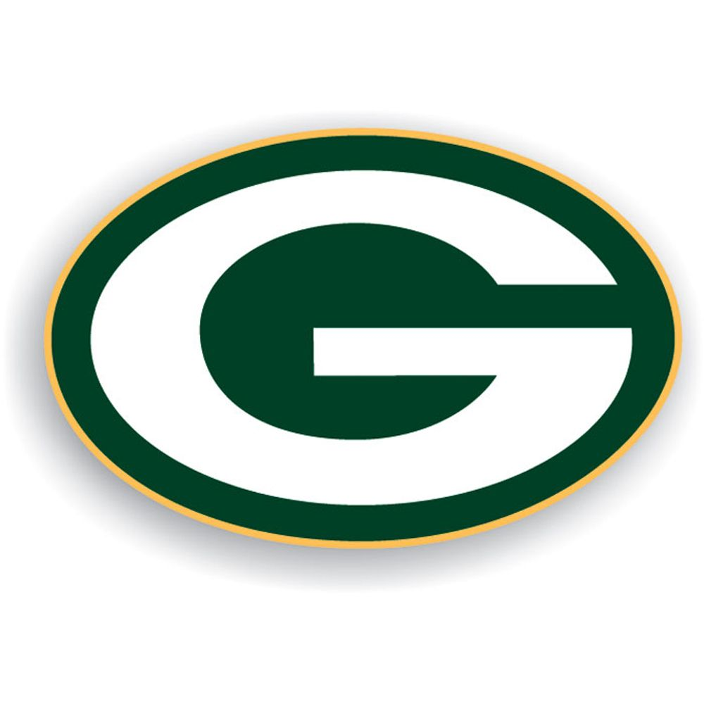 Green Bay Packers ' sport team logo: it consists of the team color: dark green, gold, and white.