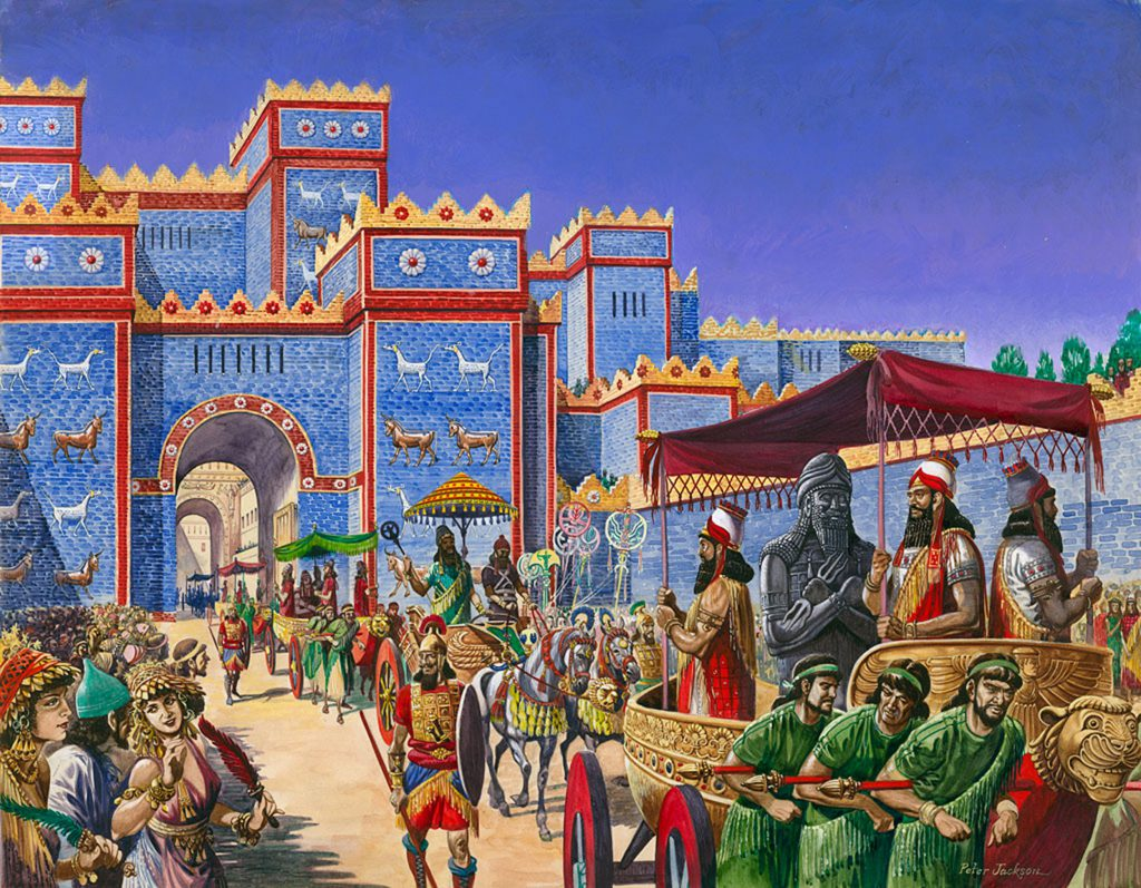 the origin in ancient Babylon of new year