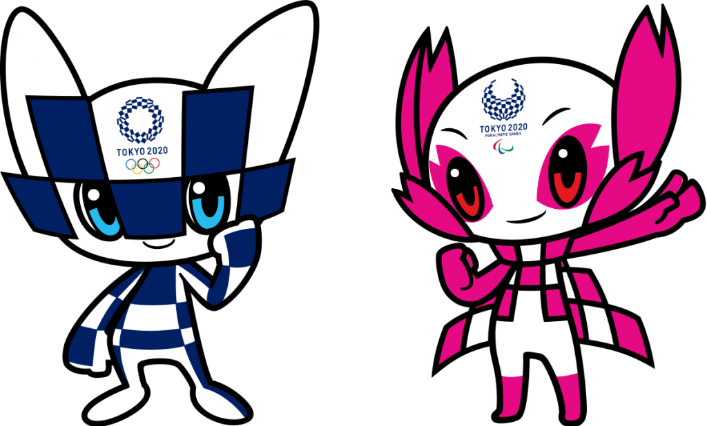 The 2020 Tokyo Olympic Games' mascot logos